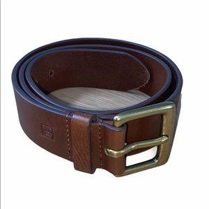 Ralph Lauren Brown Leather Belt Size 36
